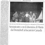 TEATRO articolo IL QUOTIDIANO del 20 maggio 2010
