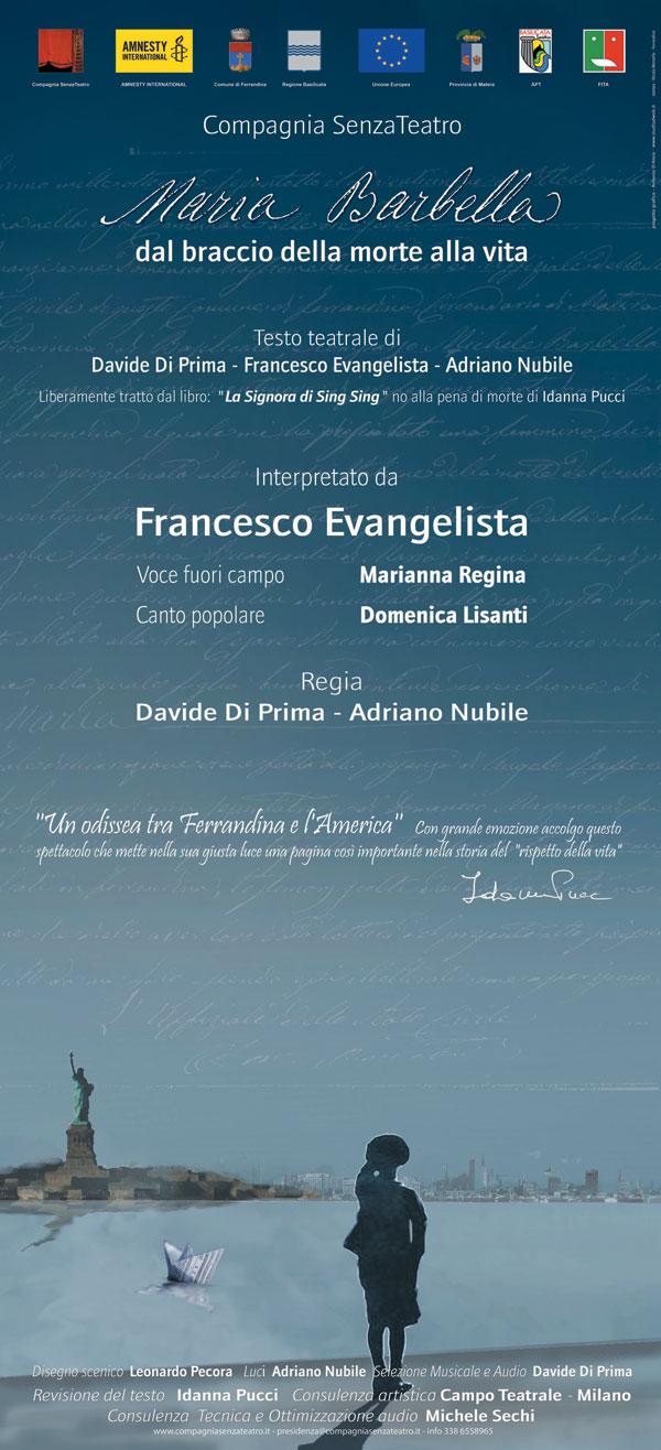 """7 marzo 2014 – Maria Barbella """"dal braccio della morte alla vita"""" – Bologna"""