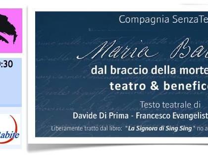 """14 marzo 2014 – Maria Barbella """"dal braccio della morte alla vita"""" – Marconia di Pisticci"""