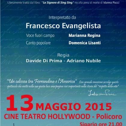 13 Maggio 2015- Maria Barbella- Policoro Cinema Teatro Hollywood