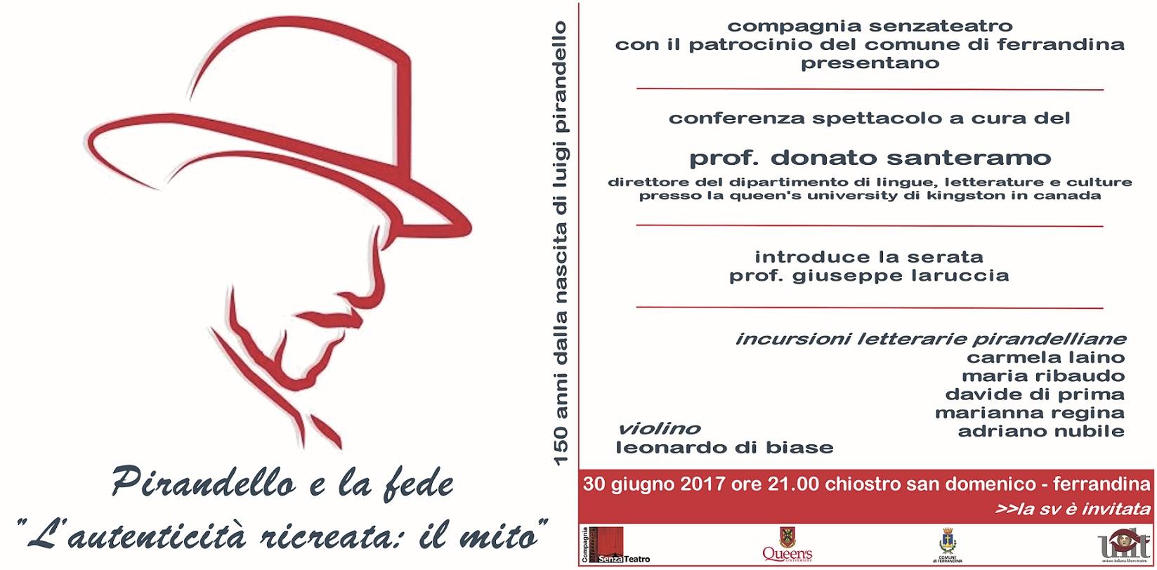 30 Giugno 2017 ore 21.00 Ferrandina-MT Chiostro San Domenico