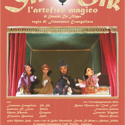 Sik Sik l'artefice Magico 3-4 Agosto 2017 Ferrandina (MT) Chiostro San Domenico