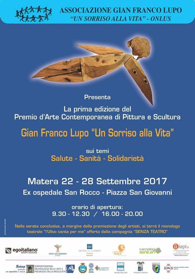 28 settembre 2017 ore 19.00- Matera- Ex ospedale San Rocco P.zza San Giovanni