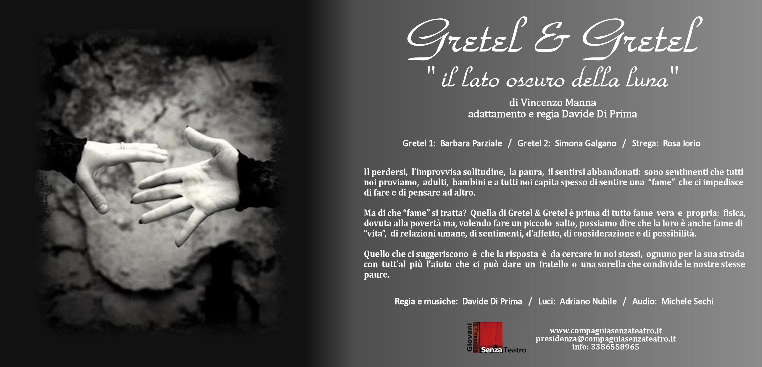 Gretel & Gretel 30 Marzo 2019 Ritagliatti Matera